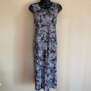 J. Jill Wearever Collection Petite Flower Dress- L